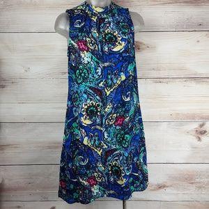 DR2 Sleeveless Floral  Swin Dress Size XS